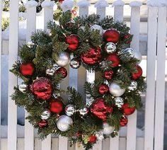 homey home design: An Inspired Christmas Wreath