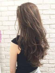 Eccentric Two Peaks Updo - 15 Diverse Hairstyles for Long Natural Hair - The Trending Hairstyle Haircuts For Long Hair, Permed Hairstyles, Long Hair Cuts, Long Curly Hair, Curly Hair Styles, Natural Hair Styles, Long Layered Hair, Medium Long Hair, Korean Haircut Long