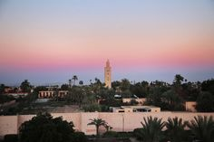 Sunset in Marrakech http://www.larevuedekenza.fr/en/