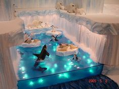Christmas Village Display Ideas & Tips! - - Make the ultimate Christmas landscape for your Dept Lemax, or Dickens snow village display with these easy tutorials and videos. Halloween Village Display, Christmas Village Display, Christmas Town, Christmas Villages, Christmas Holidays, Christmas Crafts, Christmas Decorations, Christmas Mantles, Silver Christmas