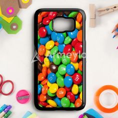 M&MS Candies Fall Samsung Galaxy S6 Case | armeyla.com