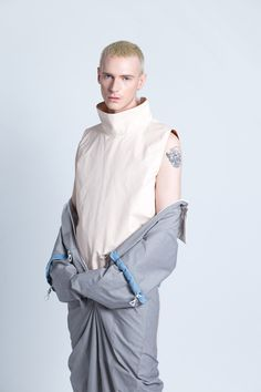 A group of menswear students from London College of Fashion teamed up with Adidas to create a workwear/sportswear collection inspired by five distinct occupations(Doctor, Firefighter, Chef, Engineer, Flight Attendant). The group of designers part of this collaborative project features Tommy... »