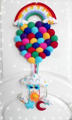 Balon kapı süsü