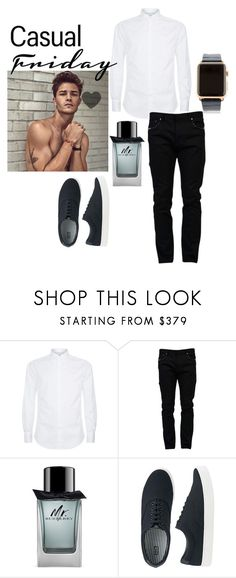"""Hot Gentle men are my type Honey."" by sarah-matin on Polyvore featuring Brunello Cucinelli, Valentino, Burberry, Uniqlo and Hadoro"