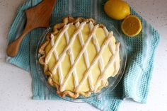 Nothing in the House: Black Bottom Lemon Pie