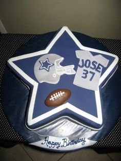2. Dallas Cowboys cake