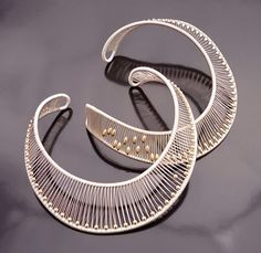 """Wire Wrapped Choker Necklace"" by Tana Acton"
