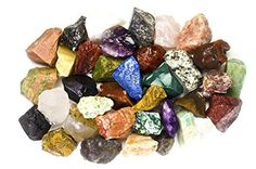 "2 Pounds (BEST VALUE) Bulk Rough INDIA Stone Mix - Over 25 Stone Types - Garnet, Lapis Lazuli, Amethyst, Moonstone, Fancy Jasper, Red Carnelian, Sodalite, Tree Agate, Iolite, Unakite, Landscape Jasper, Clear Quartz, Sunstone, Yellow Aventurine, and MUCH MORE! - Large 1"" Natural Raw Stones & Fountain Rocks for Cabbing, Cutting, Lapidary, Tumbling & Polishing and Reiki Crystal Healing *Wholesale Lot* Hypnotic Gems http://www.amazon.com/dp/B00NX48P1G/ref=cm_sw_r_pi_dp_.C2kvb1FY30GB"