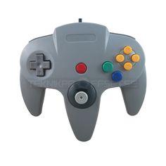 Handkontroll till Nintendo 64 - Tillbehör - Teknikproffset