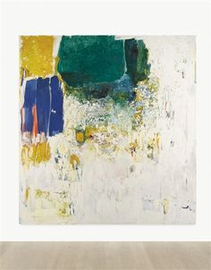 Artwork by Joan Mitchell, UNTITLED, Made of oil on canvas