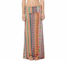 The style and splash to enhance your summer look // Roxy Ocean Treasure Maxi Skirt