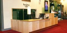 Sammon Woodcraft were commissioned to produce this once off reception desk for the National Concert Hall, Dublin. Concert Hall, Dublin, Wood Crafts, Reception, Desk, Interiors, Cabinet, Storage, Furniture