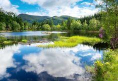 preciosa vista de este lago de NZ
