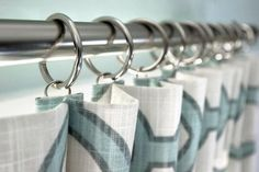 Inverted Box Pleat Curtains - Pleats close-up