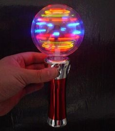 LED spinning toy