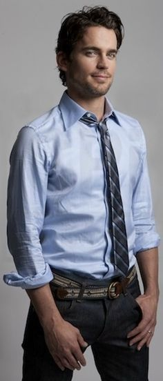 Matt Bomer, I want to rip his clothes of off you and than, jump upon you