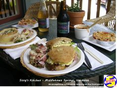 Good Food Dining at Mom & Pop Restaurants on the popular Snowbird RV Routes Homemade Potato Salads, Pops Restaurant, Strawberry Rhubarb Pie, Ham And Eggs, Egg Salad Sandwiches, Ginger Ale, Root Beer, Vermont, Front Porch
