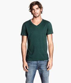 H&M VネックTシャツ ¥ 899