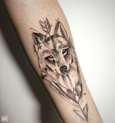 Wolf Tattoo - Diego Lemos Shogun