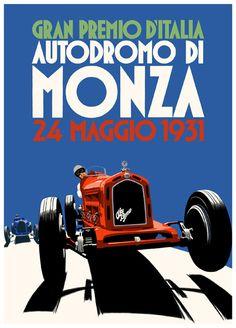 Monza 1931 #AlfaRomeo #Italy #Monza