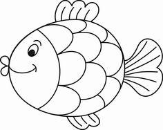 omalovánka ryba k vytisknutí pro děti k vybarvení omalovánky pro nejmenší