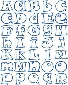 Funky Alphabet of both upper case & lower case letters.- Funky Alphabet of both upper case & lower case letters. Funky Alphabet of both upper case & lower case letters. Hand Lettering Alphabet, Doodle Lettering, Creative Lettering, Lettering Styles, Calligraphy Letters, Bubble Letters Alphabet, Bubble Letter Fonts, Fancy Fonts, Cool Fonts