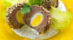 Scotch Eggs for high protein bariatric eating