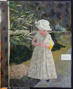 Tia by Jean Renli Jurgenson.  Featured Artist, 2015 DVQ show.  Photo by Quilt Inspiration.