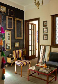 En nuestro blog Art & Mañas hemos visto este apartamento con muebles recuperados.