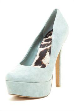 Jessica Simpson pump. LOVE the color