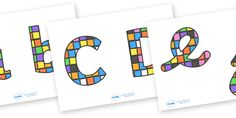 Twinkl Resources >> Elmer Patchwork Display Lettering >> Thousands of printable primary teaching resources for EYFS, KS1, KS2 and beyond! Elmer, Elmer the elephant, resources, Elmer story, patchwork elephant, PSHE, PSE, David McKee, colours, patterns,
