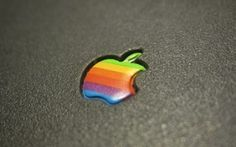 From 1976 to 1998 Apple's logo was a technicolor, rainbow-hued apple with a bite out of it. Although Apple toned things down a bit in the late '90s, many have a fondness for the classic version of the company emblem.     The iconic design, created by Ron Janoff, can still be seen today -- 36 year...