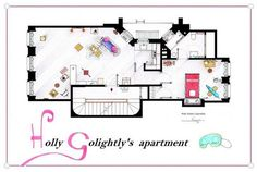 Breakfast-at-Tiffanys-Holly-Golightlys-Apartment-Floor-Plans-600x402