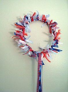 Patriotic 4th of July Crown | AllFreeHolidayCrafts.com
