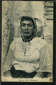 judaica-maroc_autres 33153 - Maroc - Jeune femme juive33151.jpg (281×429)