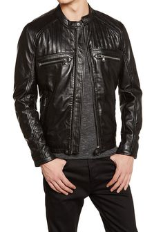 V The jacket is made from Genuine Soft Lambskin Leather. v Soft & Smooth Leather Jacket. Overall this exclusive jacket is Stretchable & light on your body due to Soft Lamb leather & Comfortable to Wear. Lambskin Leather Jacket, Leather Jackets, Leather Men, Biker Vest, Jacket Men, Stylish Coat, Blazers, Padded Jacket, Western Outfits