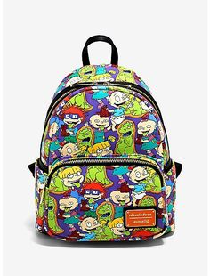 Mini Backpack Purse, Satchel Purse, Crossbody Bag, Rugrats Characters, Disney Luggage, Mini Mochila, Rainbow Bag, Hipster Bag, Nickelodeon