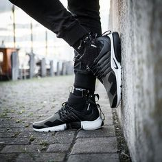 What is your favourite collab? in Acronym Prestos and our Retro Snocks! Nike Presto, Air Max Sneakers, All Black Sneakers, Nike Mode, Baskets, Men's Shoes, Shoes Sneakers, Fresh Shoes, Nike Fashion