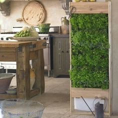 It doesn't get much handier than this when it comes to fresh herbs in the kitchen. Have you got the space for a vertical garden inside, and if so, what would you grow? You can find more herb garden ideas on our site at http://theownerbuildernetwork.co/eh3v
