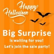 DressLily Halloween SALE! Big Surprise is waiting for you! Let's join the sale party!