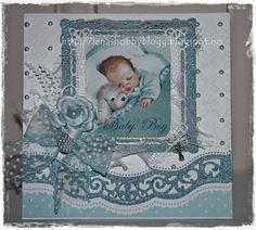 Lenashobbyblogg: Til nyfødt gutt
