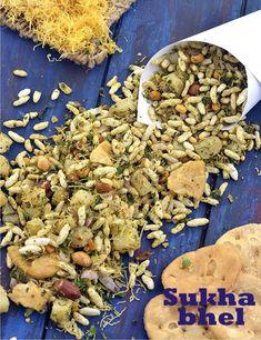 Sukha Bhel ( Mumbai Roadside Recipes )