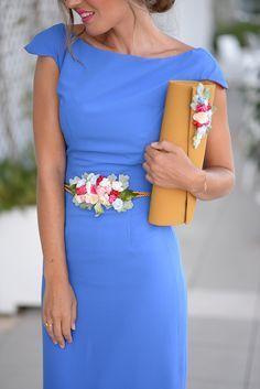 WEDDING DAY,bonito el color lavanda. Original el cinturón