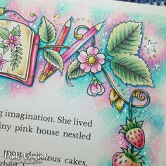 Ivy and the Inky Butterfly Coloring Book By Johanna Basford Adult Coloring, Coloring Books, Coloring Pages, Coloring Tips, Colored Pencil Tutorial, Colored Pencil Techniques, Magical Jungle Johanna Basford, Johanna Basford Secret Garden, Secret Garden Colouring