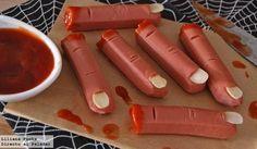 Horripilantes y sencillos Snacks para tu fiesta de Halloween. ¡Hazlos ya!