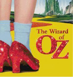 The Wizard of Oz Cross Stitch Pattern by KeenahsCrossStitch