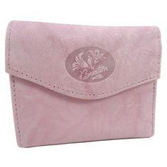 Buxton Pink Leather Heiress Mini Trifold Wallet www.BagLane.com 4345a6e447fdf