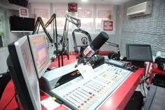 A studio of «Hit Radio» Morocco. Photo – Rahma Rachdi