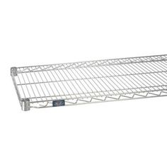 """Nexel Standard Wire Shelf Finish: Poly-Z-Brite, Size: 1.75"""" H x 48"""" W x 24"""" D"""