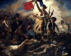 La liberté guidant le peuple, par Eugène Delacroix La liberté guidant le peuple, par Eugène Delacroix   Huile sur toile 260 x 325 cm 1830 Musée du Louvre, Tableau exposé à Lens, France
